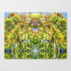 GeoBotanica V2 Canvas Print