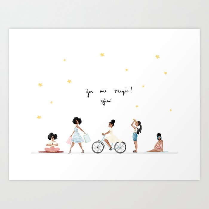 You are Magic! Kunstdrucke