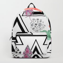 Boho background Backpack