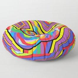 Radiating I LOVE YOU! Floor Pillow