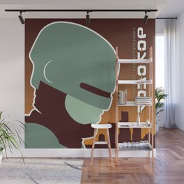 The Future Of Law Enforcement Wall Mural