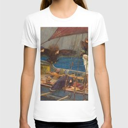 John William Waterhouse Ulysses and the Sirens 1891 T-shirt