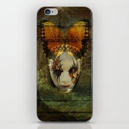 Surrealistic Venetian Mask iPhone Skin
