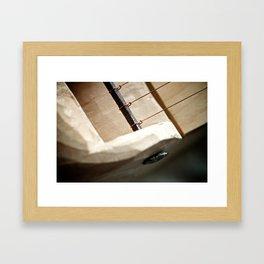 5-String Kantele, detail Framed Art Print