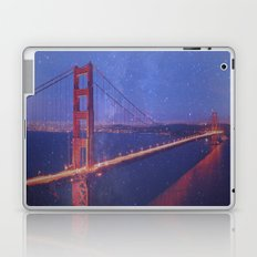 Stardust over San Francisco Laptop & iPad Skin