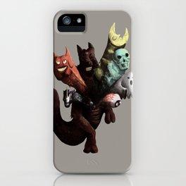 Danger Kangaroo iPhone Case
