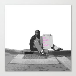 Dignity Canvas Print