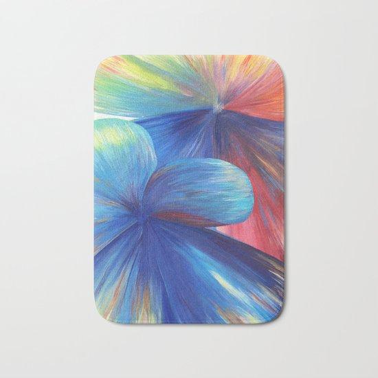 Flowers are Love Bath Mat