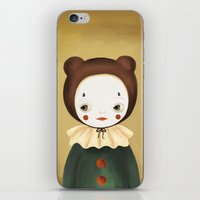 lucy iPhone & iPod Skins featuring Lucy by The Midnight Rabbit