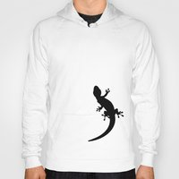 lizard Hoodies featuring Lizard by Nicklas Gustafsson