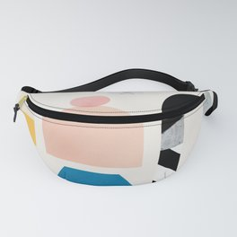 Abstraction_Shapes Fanny Pack