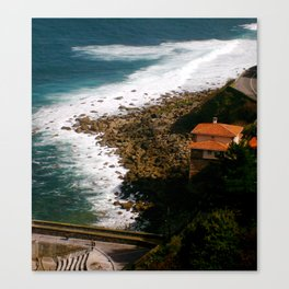 House by the Sea Canvas Print