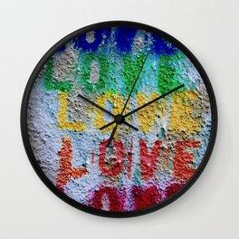 Seal of Love Wall Clock