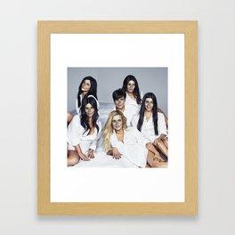 Helldashians Framed Art Print