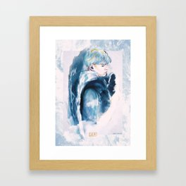 please_do_not_drown.jpg Framed Art Print