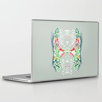 tigers Laptop & iPad Skins featuring Tigers #2 by Ornaart