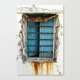 rusty view Canvas Print