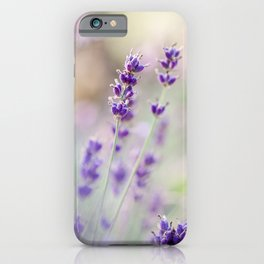 Lavender Loveliness iPhone Case