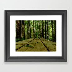 plank Framed Art Print
