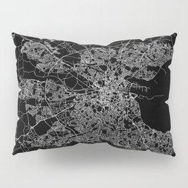 Dublin map Pillow Sham