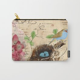 Vintage flower #15 Carry-All Pouch