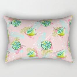 Tropical lemons party Rectangular Pillow