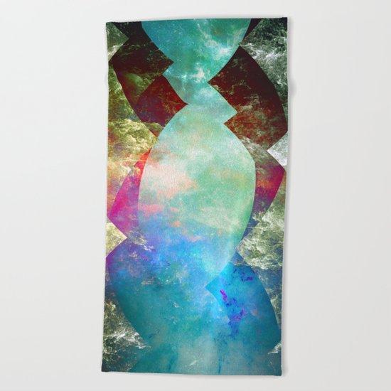 β Coronae Borealis Beach Towel