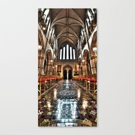 Christ Church Cathedral HDR Dublin Canvas Print