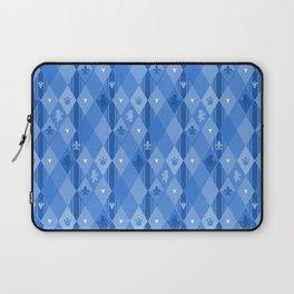 Blue Lily Bear Laptop Sleeve