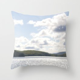 Lac Phillippe, Gatineau Park, Quebec, Canada Throw Pillow