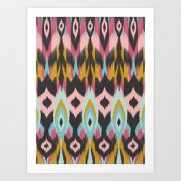 Bohemian Tribal Art Print