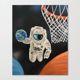 Space Games Canvas Print