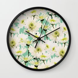 Gerbera #society6 #decor #buyart Wall Clock