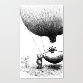 Zander and his Balloon  Canvas Print