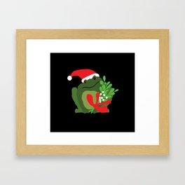 Mistle'Toad Framed Art Print