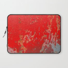 Red Shelter Door Laptop Sleeve
