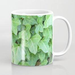 Pattern of green textured plants Coffee Mug