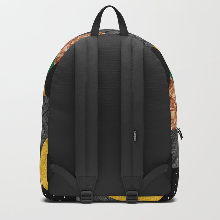 fall abstract triangle Backpack