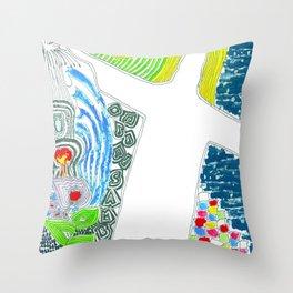 Alô Alô Rio de Janeiro! Throw Pillow