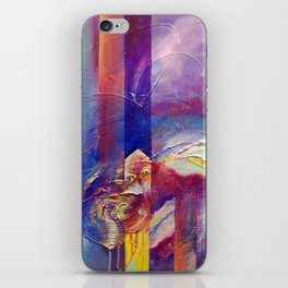 Eye of the Storm by Nadia J Art iPhone Skin