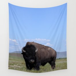 King of the Plains Wall Tapestry