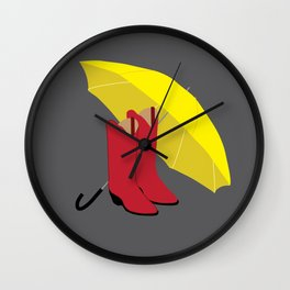 HIMYM Couples - Ted & Mother Wall Clock