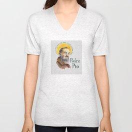 St. Pio Unisex V-Neck