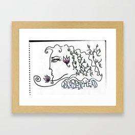 Gardenhead Framed Art Print