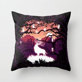 Magic animal Throw Pillow