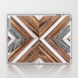 Urban Tribal Pattern No.4 - Wood Laptop & iPad Skin