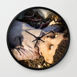 Dead Doll Wall Clock