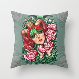 Titania Stigmata Throw Pillow