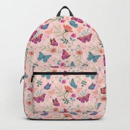 Butterflies Pattern Backpack