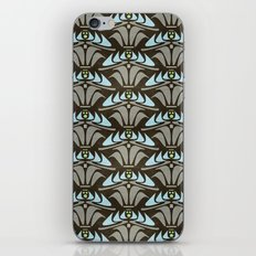 Blue - Arts and Crafts Inspired Stylized Floral Pattern - Susan Weller iPhone & iPod Skin